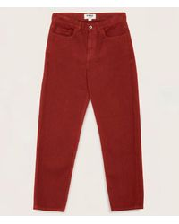 YMC - Tearaway Jeans Red - Lyst