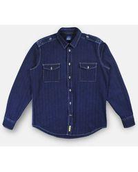 B.D. Baggies Bd Baggies Army Shirt - Dark Indigo - Blue