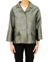 Herno Jacket Women Ga0164d 9400 12229j Grey