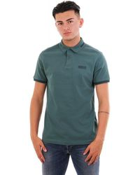 Barbour Essential Tipped Polo - Green