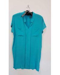 Toupy Vauban Dress - Arsenic - Green