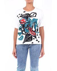 Marni T-shirt Short Sleeve Women Fancy White