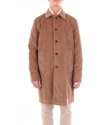 Mauro Grifoni Men's Gd160003v33brown Brown Other Materials Coat