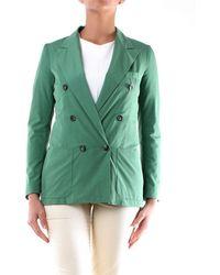 Mauro Grifoni Cotton Blazer - Green
