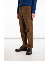 Homecore Trousers / Lynch Cord / Note - Brown
