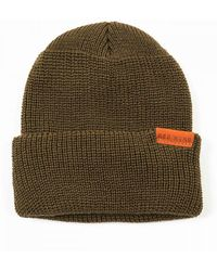 Red Wing 97491 Merino Wool Beanie Hat - Olive - Green