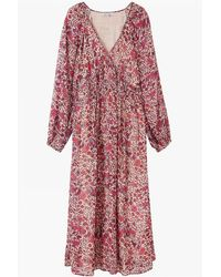 Lily and Lionel Phoebe Dress In Wild Rose - Pink