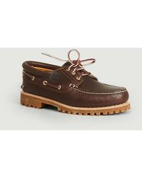 Timberland Boat Shoes Authentics 3 Eye Classic Lug Brown