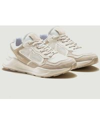 ASFVLT Sneakers Concrete Running Trainers Sand - White