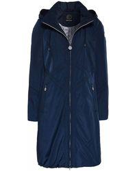 Creenstone - 3/4 Length Coat In Marine - Lyst