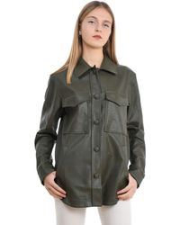 THE M.. Women's Candelaverdemil Green Other Materials Shirt