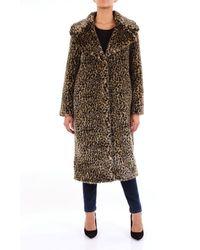 Dondup Fur Coats Fur Coats Women Spotted - Brown