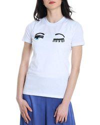 Chiara Ferragni Cotton T-shirt - White