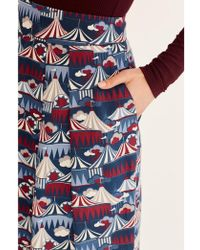 Atterley - Emily And Fin Lucinda Big Top Pleated Skirt - Lyst
