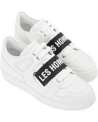 Les Hommes Sneakers - White