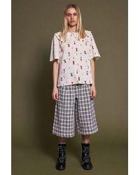 Stella Nova Sassi Shirt - Creme Cherries - White