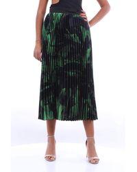 Off-White c/o Virgil Abloh Skirts Long Women Green And Black