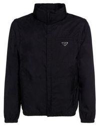 Prada Men's Sgb661s2111wq9f0002 Black Other Materials Down Jacket