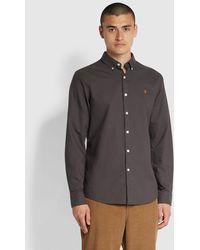 Farah Brewer Shirt - Grey