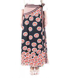 Diane von Furstenberg Taylor Wrap Maxi Skirt - Multicolor