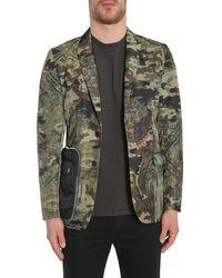 Givenchy Camo Dollar Print Jacket - Green