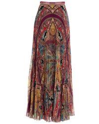Etro Women's 189065049650 Multicolor Skirt