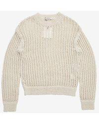 Amomento - Crochet Pullover - Lyst