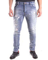 Philipp Plein Jeans In Blue