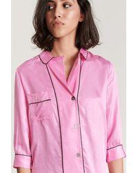 Bellerose Hold Up Pajama Shirt - Pink