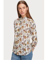Maison Scotch Cotton Print Shirt - Multicolour