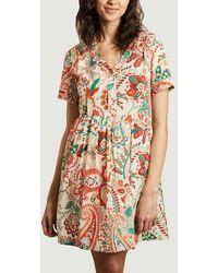 La Petite Francaise Dress Harvest Plumetis - Multicolour