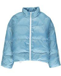 Essentiel Antwerp Antwerp Vupside Quilted Down Jacket - Light Blue
