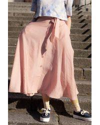 Samsøe & Samsøe Ena Misty Rose Skirt - Pink