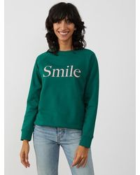 South Parade Rocky Forest Smile Sweater - Green