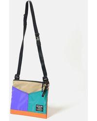 master-piece Rush Side Bag (02221) - Purple/turquoise/orange