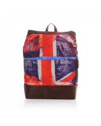 Vivienne Westwood Bags Union Jack Albert Backpack - Blue