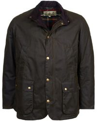 Barbour - Brandreth Wax Jacket Olive - Lyst