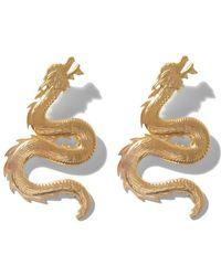 Natia X Lako - Large Dragon Earrings - Lyst