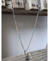 Étoile Isabel Marant Ring Linked Necklace - Metallic