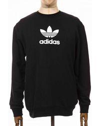 adidas Originals Adicolour Premium Crew Sweatshirt - Black
