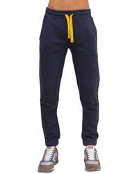 Blauer Pantalone Felpato - Blue