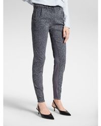 Sandwich Verona Trousers With Print - Grey