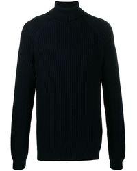 BOSS by HUGO BOSS Bovaro Turtleneck Sweater - Blue
