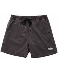 Deus Ex Machina Sandbar Shorts - Phantom - Black