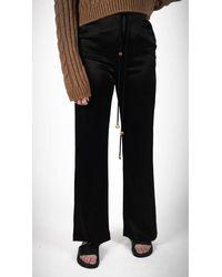 Nanushka Chimo Belted Pant - Black