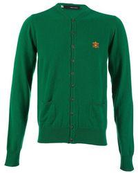 DSquared² Dsquared Cashmere Crest Cardigan - Green