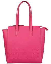 Versace Jeans Couture - Versace Jeans Women's E1vwabr771882401 Fuchsia Other Materials Shoulder Bag - Lyst
