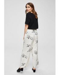 SELECTED Irena Wide Pant - White