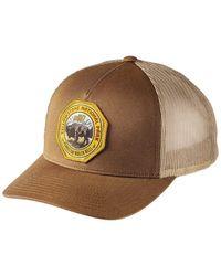 Pendleton National Park Patch Trucker Cap Dark Tan - Brown