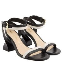 Opening Ceremony Leather Sandals - Black